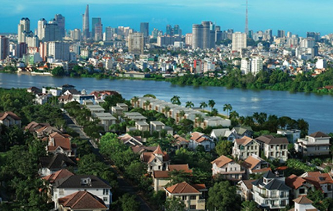 Biệt thự sinh thái triệu đô ven sông Sài Gòn