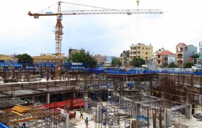 Dự án Diamond Blue đẩy nhanh tiến độ xây dựng
