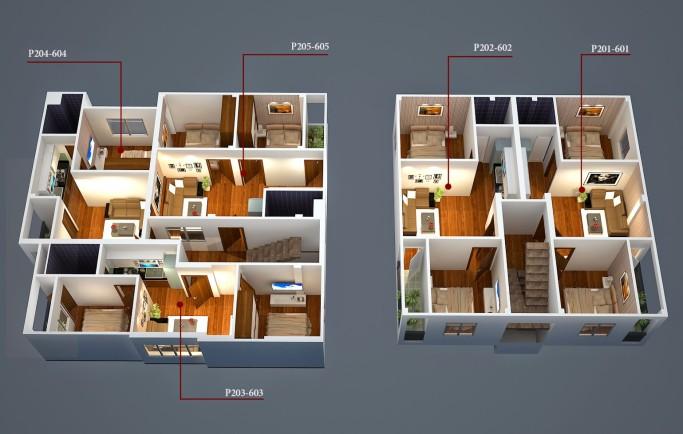 Bán căn hộ mini Minh Đại Lộc 32-45m2 chỉ hơn 400tr, vay NH 10 năm