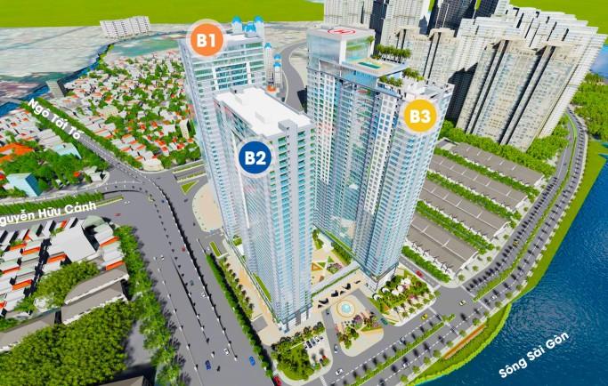 Bán Khu Đô Thị Cao Cấp Sunwah Pearl Tp.HCM khu vực rất nổi tiếng về đầu tư cho thuê