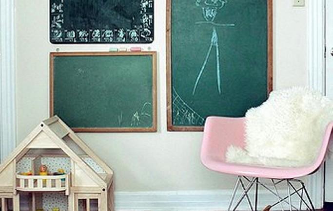Bay bổng với trang trí tường phòng đến không gian sống của các con