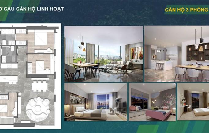 Bên bằng thiết kế căn hộ Kingdom 101