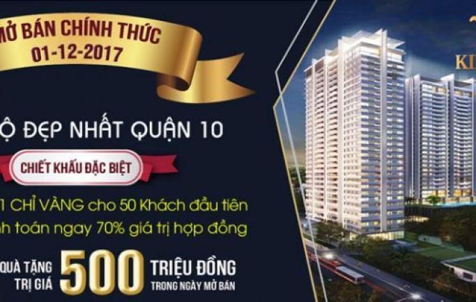 Căn hộ Kingdom 101 Thành Thái quận 10 sẽ được bán đầu tháng 11
