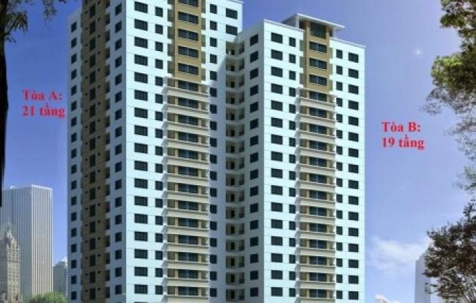 Căn hộ nhà ở mua bán chung cư ct2 housinco phùng khoang