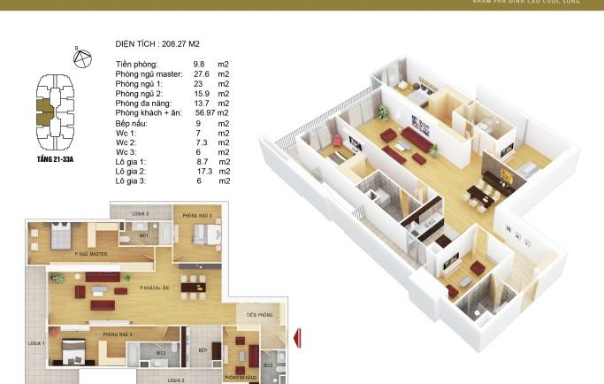 căn hộ tại chung cư Stelar Garden 35 Lê Văn Thiêm
