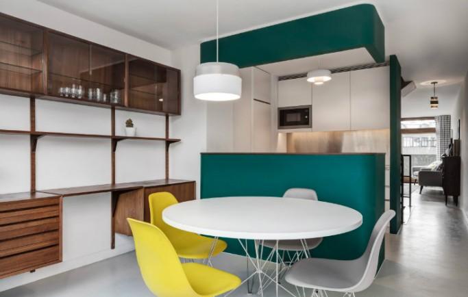 Căn hộ tại London được biến đổi thành một bất động sản Barbican hoành tráng