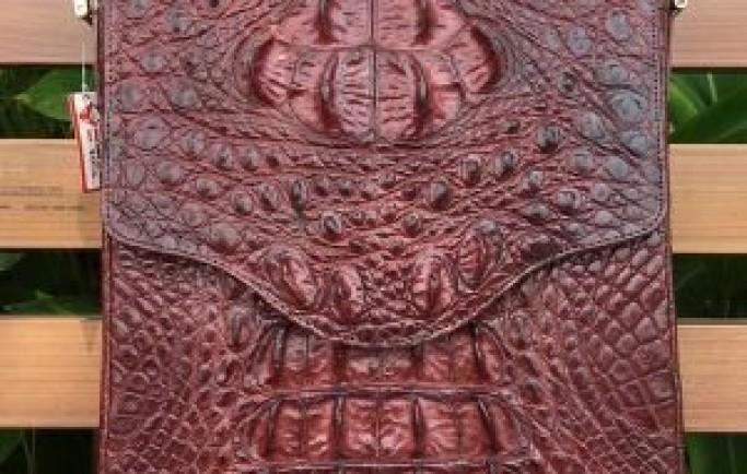 Cặp Xách Đeo Chéo Nam Da Cá Sấu Thật CCS05-N giá chỉ 9,990,000₫
