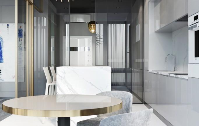 Chiêm ngưỡng căn hộ đầy cảm hứng ở Moscow với thiết kế trung cổ xa xỉ