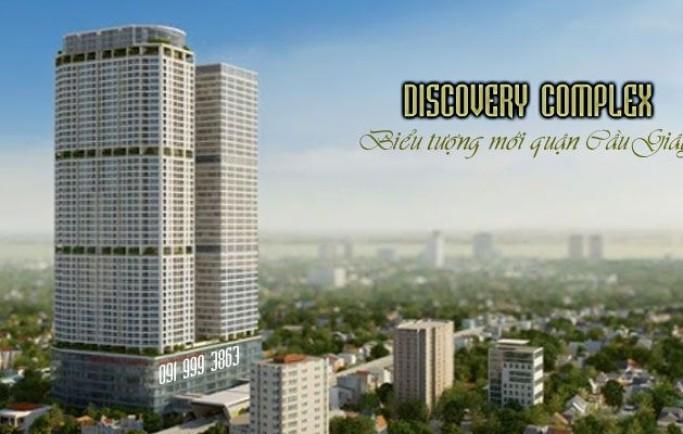 Cho thuê / bán VP 50 năm, mặt bằng TTTM làm thời trang, nhà hàng, mỹ phẩm tại CC Discovery Complex