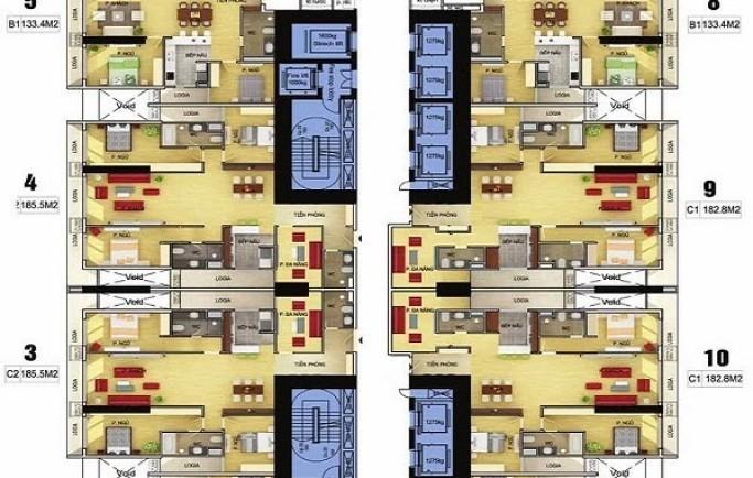 Chung cư Discovery Complex tọa lạc tại số 302 Cầu Giấy