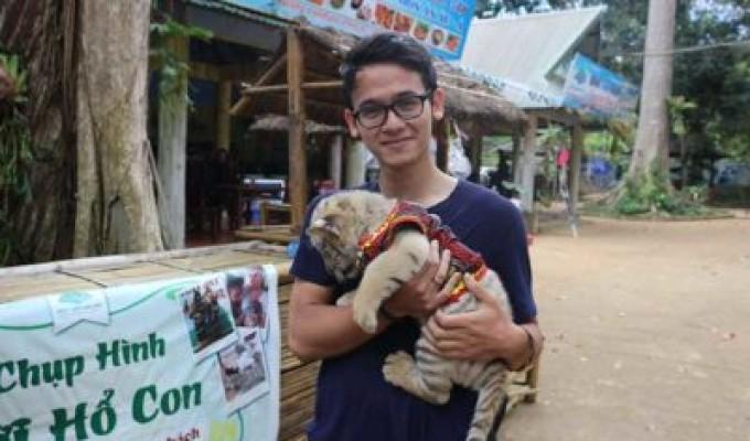 Dan-Thomas Elbaum kết thúc thời gian tình nguyện 5 tháng tại Maison Chance