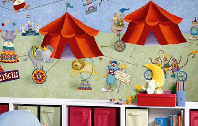 Danh sách một số mẫu mã tranh dán tường dễ thương cho phòng ngủ trẻ em (P2)