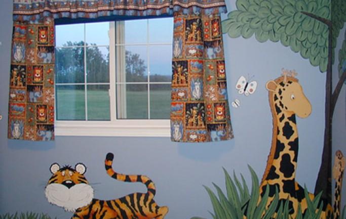 Điểm một số tranh dễ thương cho phòng ngủ trẻ em (P1)