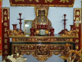Đồ Thờ Gỗ, Tượng Phật Gỗ Sơn Son Thếp Bạc, Thếp Vàng Cho đình Chùa