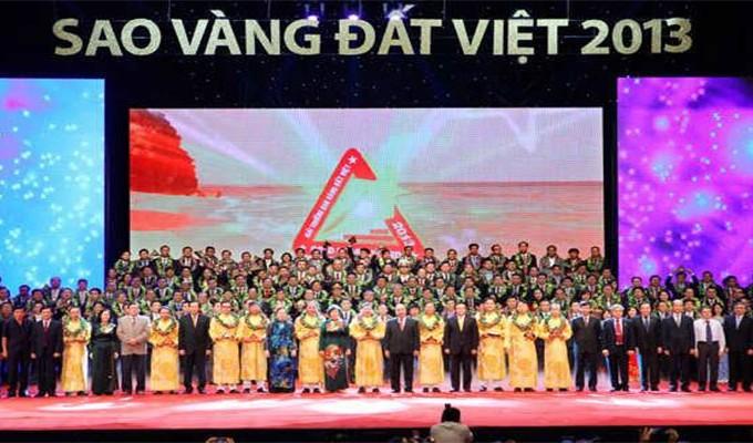 FLC chính thức lọt vào TOP 100 giải thưởng sao vàng đất Việt Nam 2013