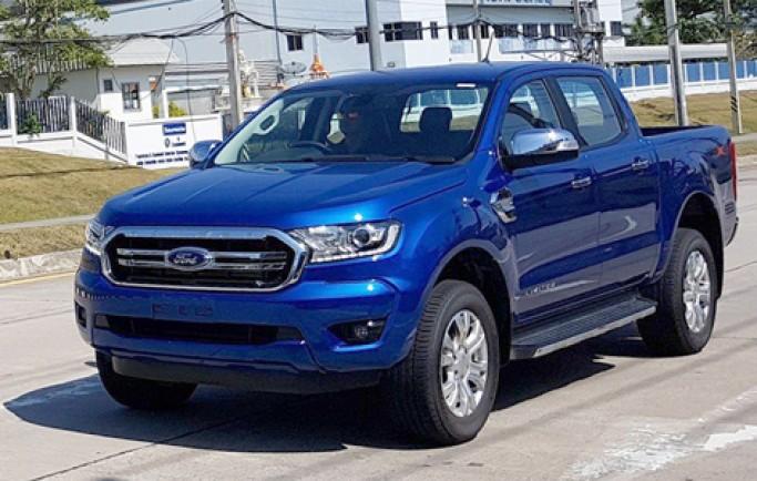 Ford Ranger 2018 lộ diện trên đường thử