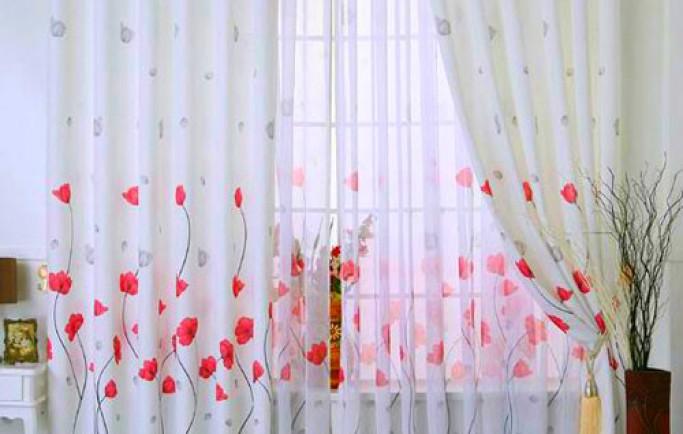 Giới thiệu những bộ rèm cửa mang phong cách đồng quê ngọt ngào