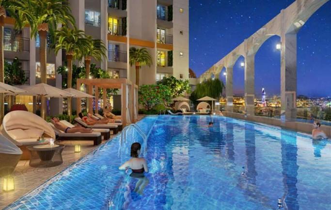 Không gian căn hộ Gem Riverside Đất Xanh q2 ước mơ mang lại cuộc sống tươi đẹp