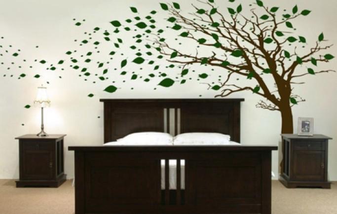 Kiểu đề can gián tường thu hút mang sự duyên dáng dành cho bức bường nhà bạn