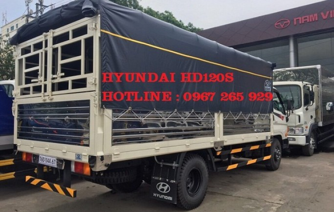 Mua Xe Tải Hyundai HD120S Thùng Bạt Trả Góp | Có Xe Giao Ngay