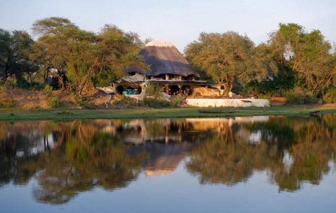Ngôi biệt thự sông Chongwe mộc mạc và dễ chịu