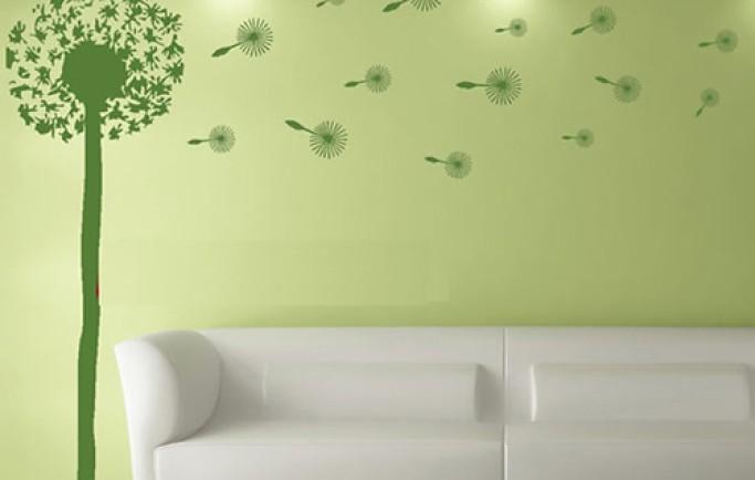 Những bức tường vẽ có giá trị và làm tăng giá trị thẩm mỹ cho tới căn phòng của bạn