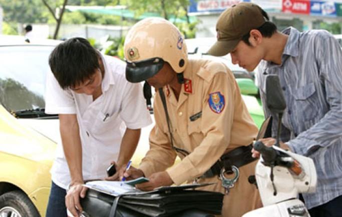 Những lỗi vi phạm sẽ bị tước giấy phép lái xe