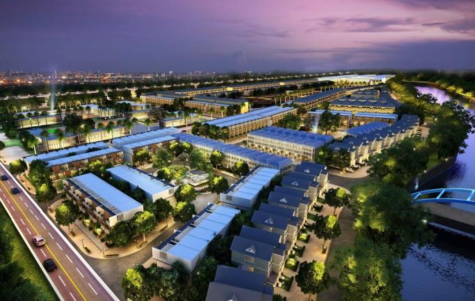 Sức nóng sản phẩm Khu đô thị Địa Ốc Long Phát ở Bình Phước