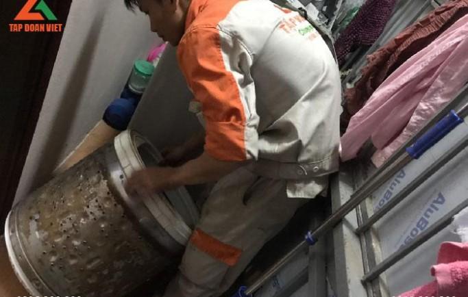 Tập Đoàn Việt nhận sửa máy giặt tại nhà hiệu quả lỗi ngay