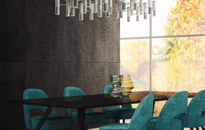 Thật đơn giản để nâng cao trang trí phòng ăn với ánh sáng đương đại đầy thu hút