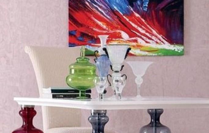 Thiết kế nội thất trong suốt và có nhiều sắc màu (P1)