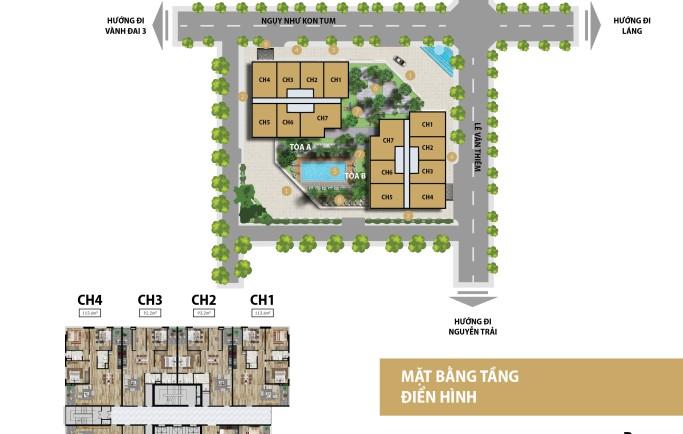 Thông tin về dự án The Capital Garden