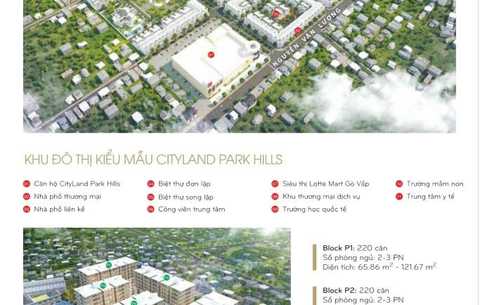 Tiến độ thực tế dự án căn hộ Cityland Park Hills Gò Vấp tháng 11.2017