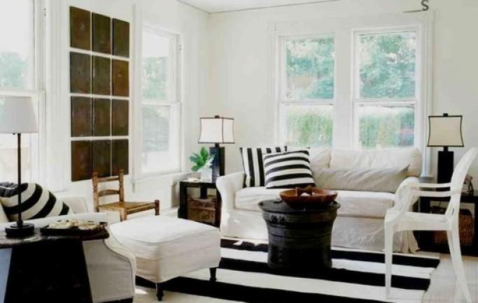 Tìm kiếm không gian tuyệt vời bằng việc trang trí nhà với hai tông màu chủ đạo đen và trắng