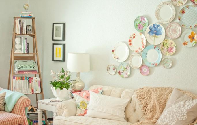 Ý tưởng thiết kế nội thất cổ điển được truyền cảm hứng từ thủ thuật trang trí của bà