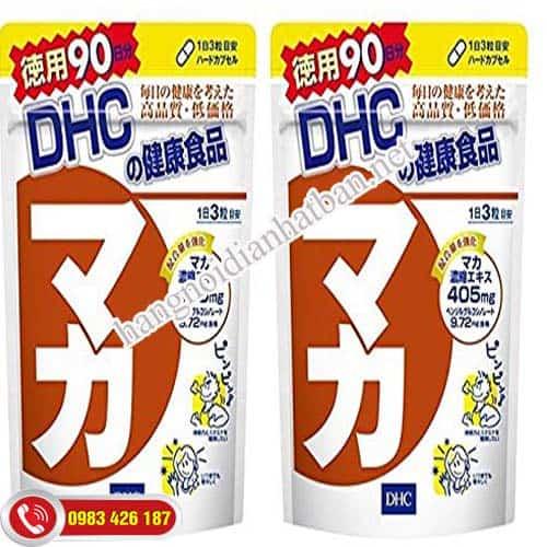 Công dụng của viên uống Maca DHC Nhật Bản