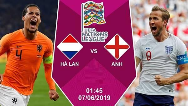 Nhận định Hà Lan vs Anh, 01h45 ngày 07/6