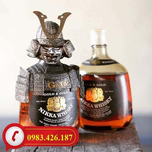 Rượu Nikka Samurai của Nhật hàng chính hãng