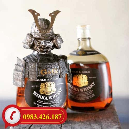 Tư vấn sản phẩm rượu Whisky Nikka Samurai Nhật Bản