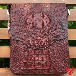 Túi Đeo Chéo Lưng Cho Nam Cá Sấu TDLCS03 nâu 6,500,000₫