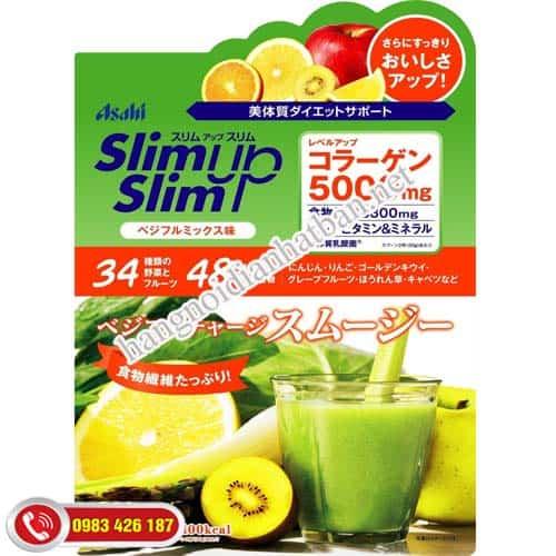Xin hỏi: Sản phẩm giảm cân ASAHI Slim up Nhật Bản mua ở đâu