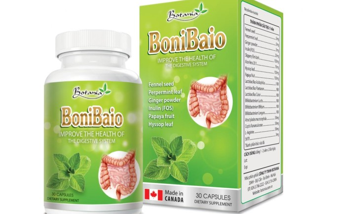 Bonibaio hỗ trợ điều trị bệnh viêm đại tràng rất hiệu quả và không để lại tác dụng phụ