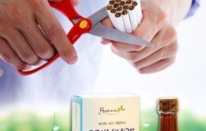 Cai thuốc lá bằng boni smok giúp cai thuốc trong 3 đến 7 ngày