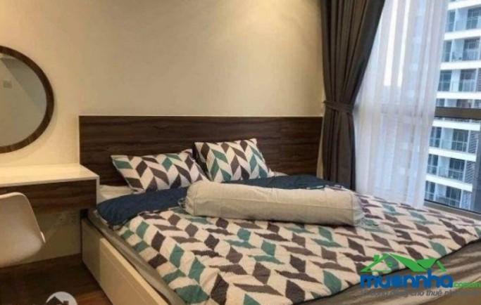 Cho thuê căn hộ vinhomes central park 2 phòng ngủfull nội thất - tầng cao