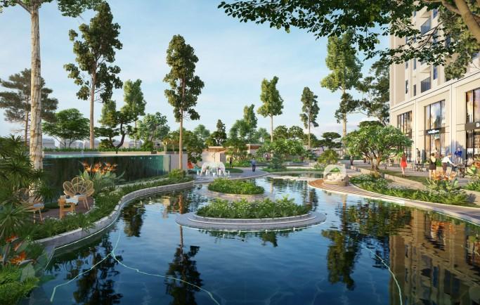 Giá bán căn hộ dự án ngoại thành TP Hà Nội cao hơn nội thành của thành phố