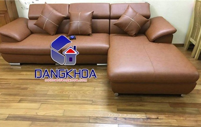 Mua ghế Sofa da góc tại nội thất Đăng Khoa chuẩn ISO 2019