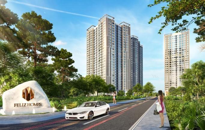Tiện ích nội khu đủ đầy căn hộ chung cư Felizhomes Q.Hoàng Mai